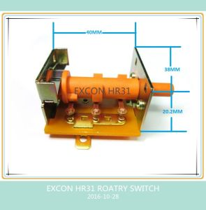 16A Rotary Switch 90 Degree with 4 Position 3 Contact Switch