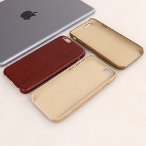 OEM PU Bamboo Wooden Cell Phone Case for iPhone 7 pictures & photos