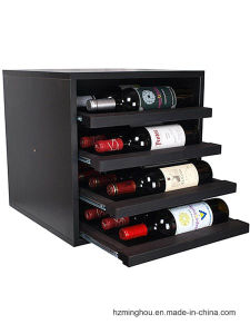 Factory Outline Solid Wood Display Stand with Drawer Wine Storage pictures & photos