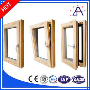 Aluminum/Aluminum Tilt and Turn Windows with Different Size pictures & photos