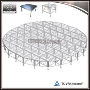 Guangzhou Factory Assembly Aluminum Portable Round Stage pictures & photos