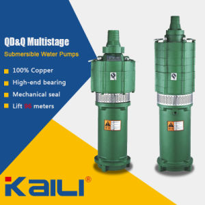 QD&Q Multistage Electric Submersible Water Pumps for Clean Water pictures & photos