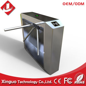 Hot Sale Entrance Access Control Tripod Turnstile for School pictures & photos