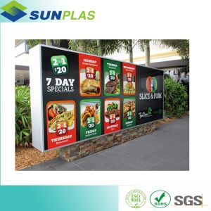 UV Resistant ABS Sheet for Small to Medium Format Signage pictures & photos
