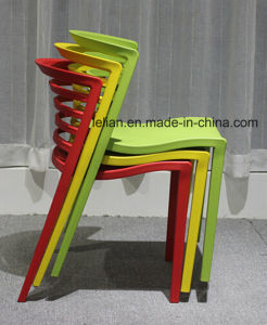 Moulded Whole PP Stacking Dining and Coffee Chair (LL-0057) pictures & photos