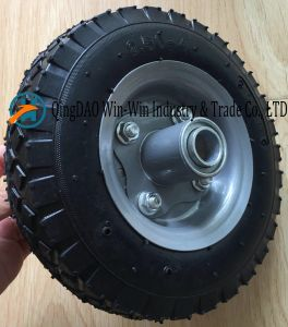 Wear-Resistant Pneumatic Rubber Wheel for Wheelbarrow (2.50-4) pictures & photos
