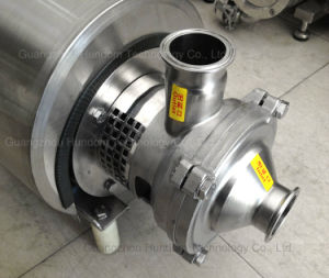 High Quality Stainless Steel Ss304/Ss16 Food Grade Self Priming Pump pictures & photos