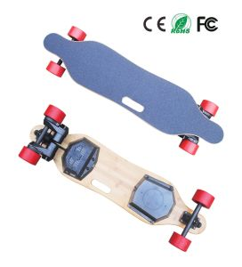 Wholesale Belt-Driven 900W*2 Four Wheel Electric Skateboard Scooter pictures & photos