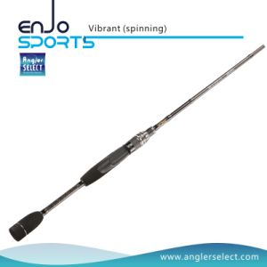 Vibrant One-Piece Carbon Fiber Casting Rods with FUJI Sic Guides pictures & photos