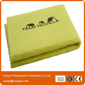 Lint Free Needle Punched Nonwoven Fabric PVA Glass Cleaning Cloth pictures & photos