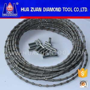 Diamond Slitting Wire Saw for Marble Quarrying pictures & photos