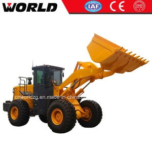 Ce Approved Chinese 5ton Front Wheel Loader (W156) pictures & photos