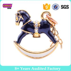 Wholesale Metal Enamel Rotate Trojan Horse Charms pictures & photos