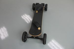 China Factory Supply Four Wheels Electric Power Electric Skateboard pictures & photos