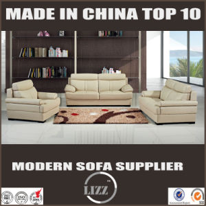Manufacture Low Price Office Fashionable Leather Sofa pictures & photos