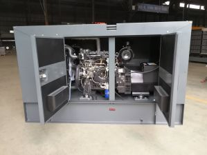 Water Cooling 4 Strokes 15kVA Class H Diesel Generators pictures & photos