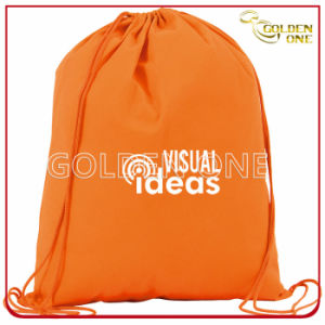 Custom Eco-Friendly Printed Nylon Drawstring Bag pictures & photos