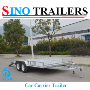 Heavy Duty Car Trailer with Certification pictures & photos