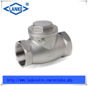 Ss304/Ss316 Check Valve with Femal Thread pictures & photos