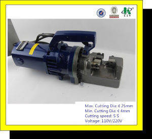Manual Electric Hydraulic Steel Bar Cutting Machine RC-25 pictures & photos