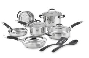 Stainless Steel Cookware Set 11PCS Kitchenware pictures & photos