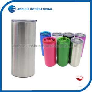 20 Oz Double Wall Rambler Stainless Steel Insulated Straight Tumbler pictures & photos