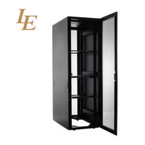 19 Inch Flat Pack Aluminum Perforated Vented Small Computer Server Cabinet pictures & photos