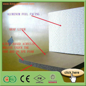 Factory Materials Insulation Rubber Foam Board/Blanket with Fsk pictures & photos