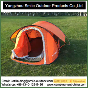 2-3 Person Double Layer Adjustable Windows Pop up Tent pictures & photos