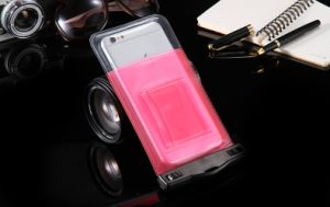 Sealed Clear PVC Waterproof Cell Phone Pouch Bag for Swimming Diving Big Size Smart Phone pictures & photos