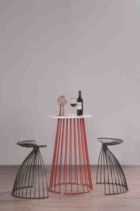 Hotsale Wire Metal Bar Stool High Chair with Morden Style pictures & photos