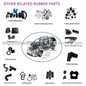 Clear Custom Silicone Rubber Flexible Hose Pipe pictures & photos