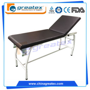 Back Adjustable Hospital Examination Bed pictures & photos