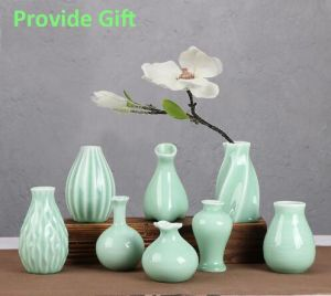 1 Piece Small Size Flower Holder 7 Style for Choose Lovely Jardiniere Home Decoration Ceramic Vase pictures & photos