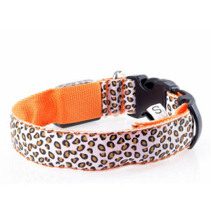 Flashing in Dark Safety LED Dog Collar Pet Products pictures & photos