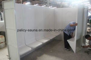 Family Using Hot Sale Acrylic Wet Steam Room 10b pictures & photos