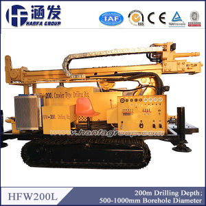 Crawler Mounted Water Well, Geological Prospecting, Mining Drilling Rig (HFW200L) pictures & photos