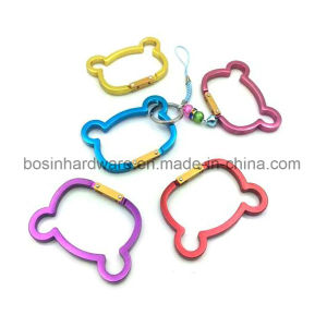 Cute Cat Shaped Aluminum Carabiner for Promotion pictures & photos