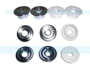 Two Pieces Chrome Escutcheon Plate pictures & photos