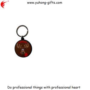 2D/3D Wholesale Soft PVC Promotional Keychain Manufacturer (YH-KC184) pictures & photos