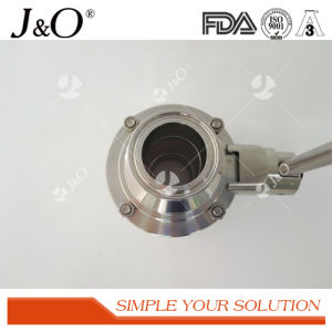 Sanitary Butterfly Clamp Ball Valve pictures & photos