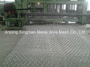 4300mm Weaving Mesh Width New Double Rack Drive Gabion Box Machine, Hexagonal Mesh Machine pictures & photos