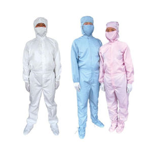 Cleanroom Antistatic ESD Garment (Smock, Coverall, Jackets&Pants, Cap, Booties) pictures & photos