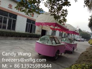 Italian Gelato Ice Cream Vending Carts (CE) pictures & photos