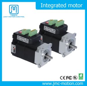All in One 3000rpm Size 57mm 100W 36V 2 Phase NEMA 23 Integrated Servo Motor with Drive pictures & photos