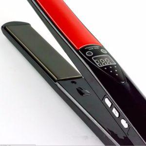 2016 New Professional Temperature Control Titanium Electronic Hair Straighteners Tools Straightening Corrugated Iron pictures & photos