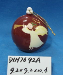 Ceramic Angel Bauble for Christmas Tree Decoration pictures & photos