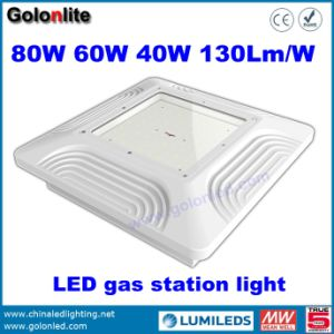 China Manufacturer Factory Price 130lm/W Gas Petrol Station 80W LED Canopy Light pictures & photos