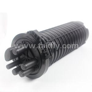 FTTH 144 Cores 6 Ports Vertical Dome Type Fiber Optic Splice Closure pictures & photos