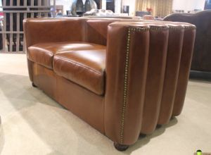 Classic Leather Sofa, Full Genuine Leather Sofa Yh-143 pictures & photos